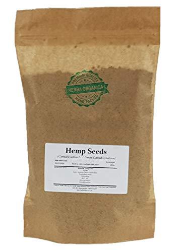 Hanfsamen / Cannabis Sativa L / Hemp Seeds # Herba Organica # Echte Hanf, Gewöhnliche Hanf (450g)