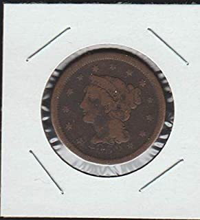 1852 Matron Head Modified (1835-1839) and Braided Hair (1837-1857) Penny Very Good
