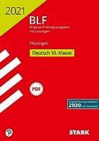 STARK BLF 2021 - Deutsch 10. Klasse - Thueringen