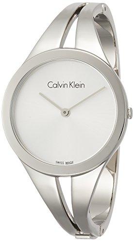 Calvin Klein Reloj Analogico para Mujer de Cuarzo con Correa en Acero Inoxidable K7W2S116