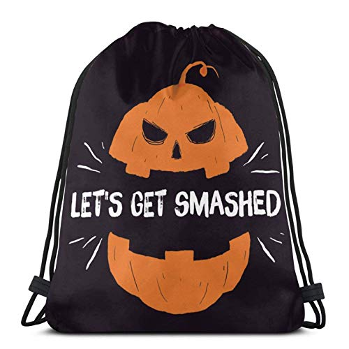 LREFON Gym Bag Ich Bin die Nacht fürchte Mich - Hween Geschenk lustig Fabric Bag,Shoe Bag,Sports Bag,Boys & Girls,Includes Name Print,Customisable