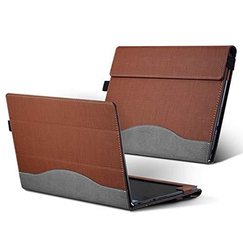 HHF Pad Accesorios para Lenovo Yoga Libro 10.1 2016, PU Cuero PROTEC Cover con diseño de Tableta Lenovo Yoga Libro 10.1 (Color : Marrón)