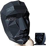 Máscaras de juego de calamar Cubierta Facial Squid Game Hombre Enmascarado 2021 TV Cosplay Fiesta de Halloween Accesorios