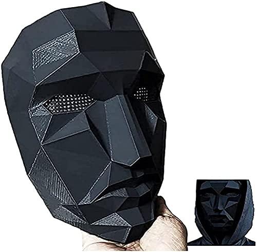 Máscaras de juego de calamar Cubierta Facial Squid Game Hombre Enmascarado 2021 TV...