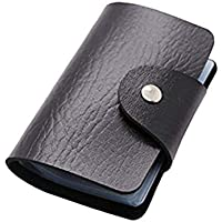 Generic Portable Leather Minimalism Card Holder