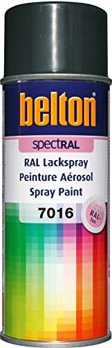 belton spectRAL Lackspray RAL 7016 anthrazitgrau, glänzend, 400 ml - Profi-Qualität