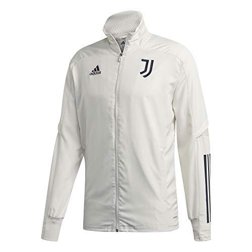 adidas Juventus FC Temporada 2020/21 JUVE PRE JKT Chaqueta presentación, Unisex, Orbit Grey/Legend Ink, XXL