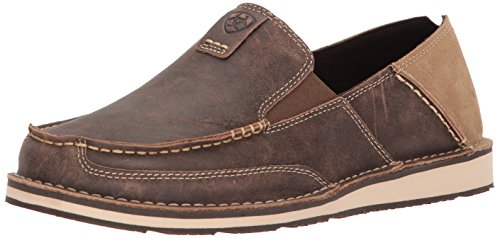 Ariat Women's Slip on Shoe Casual, Vintage Bomber Brown, 11 Wide