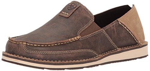 Ariat Men's Cruiser Slip-on Shoe, Vintage Bomber, 9.5 D US
