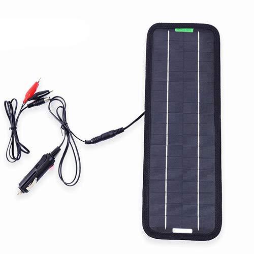 DC portable panneau solaire 12V 18V 5W Cell batterie chargeur allume-cigare de charge de l'énergie solaire monocristalline rechargeable