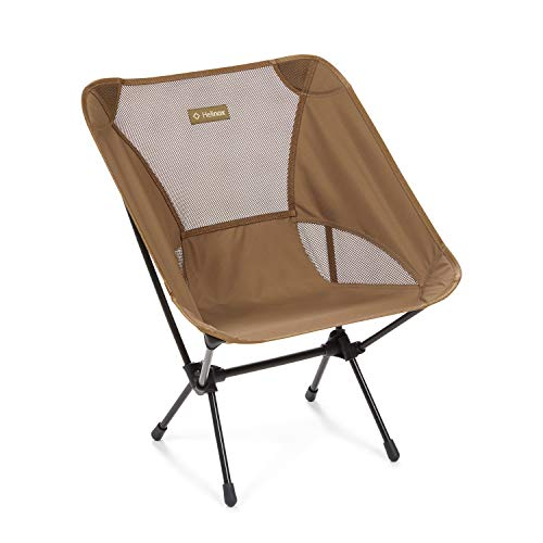 Helinox Chair One Original Lightweight, Compact, Collapsible Camping Chair, Coyote Tan