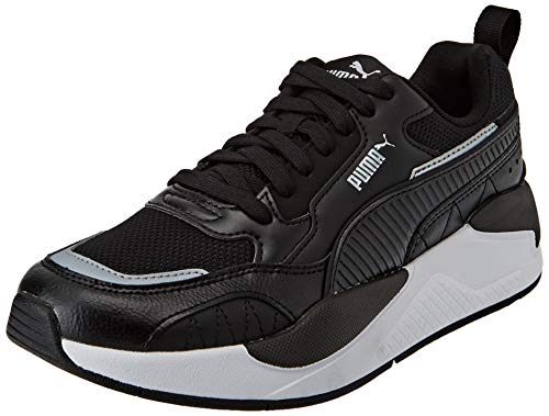 PUMA X-Ray 2 Square, Sneaker Unisex-Adulto, Nero Black Black White, 40.5 EU
