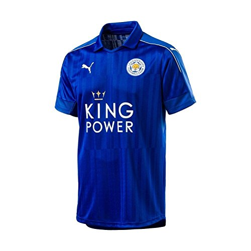 PUMA Leicester City Youth Home Jersey [Blue] (YS)