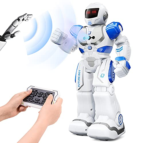 Ruko 6088 Programmable Robot, Gesture Sensing Intelligent Remote Control Robot for Kids 3-8years,...