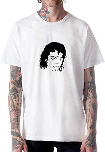 Michael Jackson King of Pop Music Fan Art Camiseta Camiseta Camiseta para Hombre para Hombre Hombre