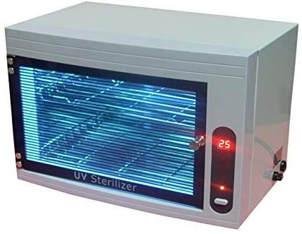 Global Steri~lizer U~V&O~zone Ster~ilizer Disin~fection Ca~binet Ma~nicure Tools To~wel U~V O~zone Steri~lizer Equipment with LED Display & 3 Timer Settings Y~M-9002