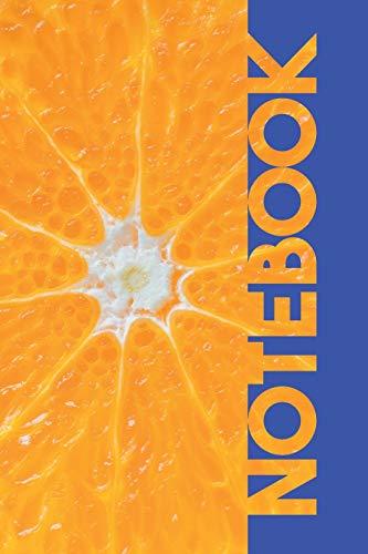 Notebook: Mandarin Orange Pretty Composition Book for Rutaceae Fans