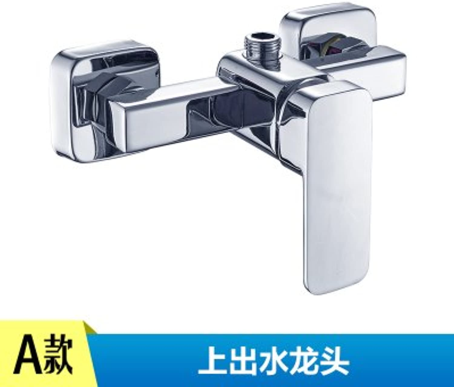 NewBorn Faucet Kitchen Or Bathroom Sink Mixer Tap Water Tap Hot And Cold Dish Pool Water Water Tap Dish Washingbrass Valve Body To redate The Water Tap Hot And Cold, Seven Field Bend + Two 80 Cm Hose