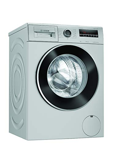Bosch 7 Kg Inverter Fully-Automatic Front Loading Washing Machine (WAJ2426SIN, Silver)