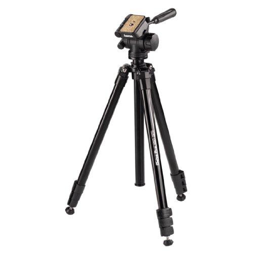 Hama lichtgewicht allrounder professioneel statief met 3-weg kop, Delta Pro 180 3D, zwart