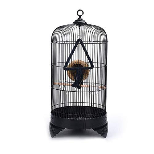 ZYLBDNB Voliera per pappagalli Gabbia for Uccelli Ornamentali for Esterni, in Metallo, con Gabbia in Stile Europeo voliera per Uccelli