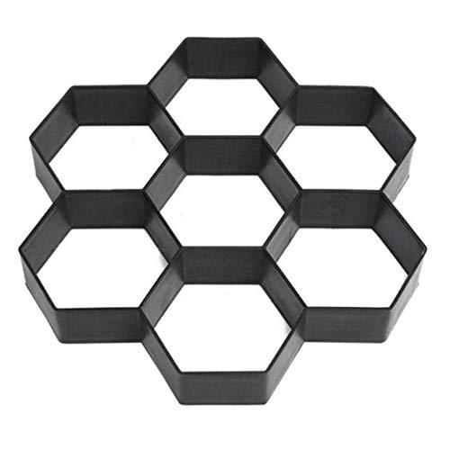 Oulensy 1Pc 7 Panal alveoladas DIY de moldes de plástico Fabricante de...