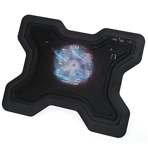 NoteBook Cooler Pad Base Supporto di raffreddamento per computer portatile Laptop Gaming con LED 12-19 pollici