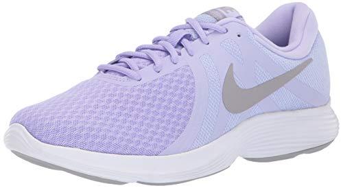 Nike Women's Revolution 4 Running Shoe, Purple Agate/Atmosphere Grey, 9.5 Regular US