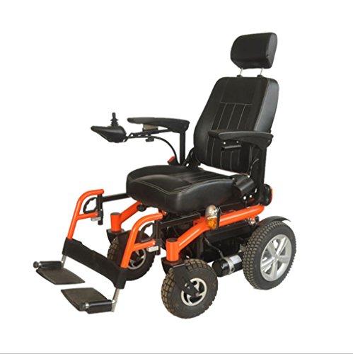 Q-HL Sedie a rotelle Sedia a rotelle elettrica, Sedia a rotelle abbinabile,...