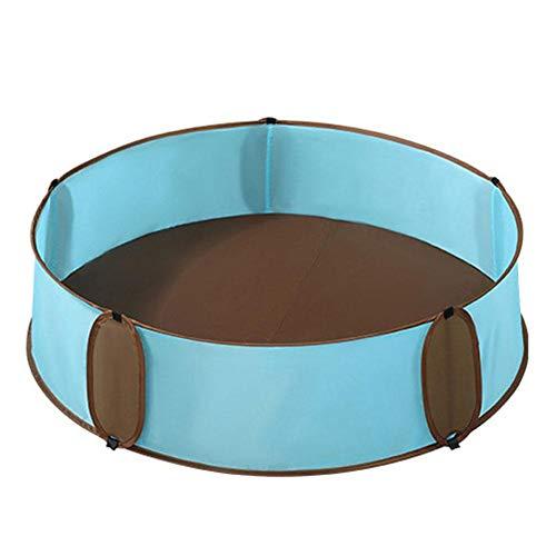 Luckything ballenbad voor kinderen en baby's, met mini-basketbalkorf, ballenzwembad, voor binnen en buiten
