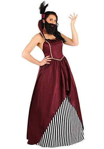 Disfraz de circo barbudo para mujer