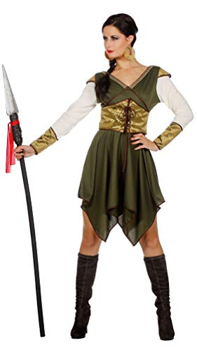 Karneval-Klamotten Robin Hood Kostüm Damen Lady Marian Mittelalter Damen-Kostüm
