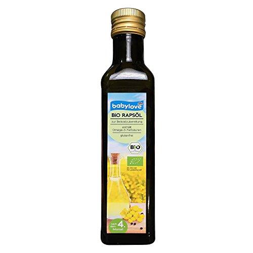 Babylove Bio olio di colza dopo il 4. mese 250 ml (confezione da 1).