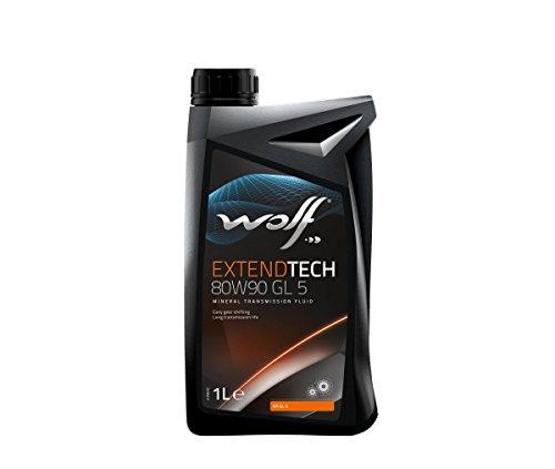 Wolf - Bidon 1 Litre d'huile 80W90 POLYGEARGL580W90-8304309