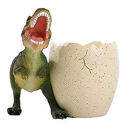 3. Yooce T-Rex Dinosaur Toothbrush Holder