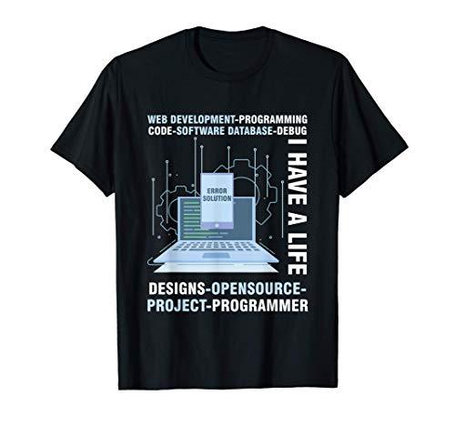 PC Sviluppatore Programmatore Errore HTML Computer Regalo Maglietta