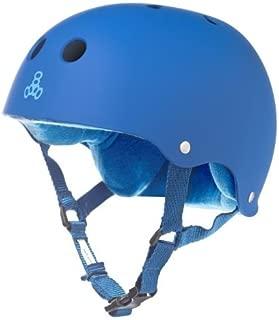 Triple Eight Sweatsaver Liner Skateboarding Helmet,  Royal Blue Rubber,  X-Large