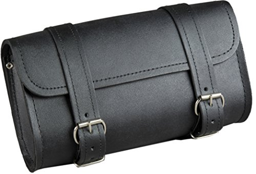 Best Buy! Fuel Helmets SH-BARBAG Handlebar Bag with Leather Shell, Black