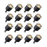 Kit Luci Da Incasso a LED Con Guscio di Protezione 30mm/24mm,...
