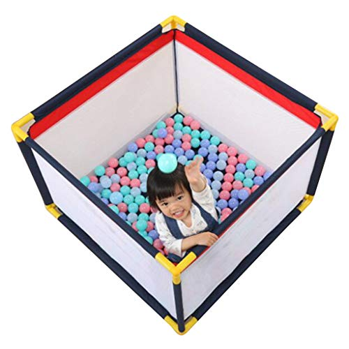 YF-Watch Boxes - Parque de Juegos Cuadrado para bebés, Valla para niños, protección contra caídas, Centro de Actividades de Seguridad para niños en Interiores y Exteriores