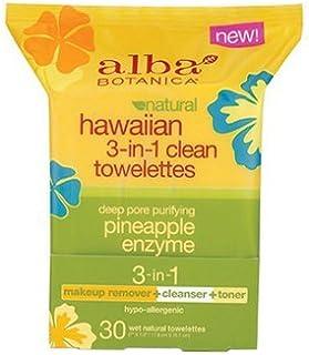 Alba Botanica Hawaiian Towelettes 3In1 30 Ct