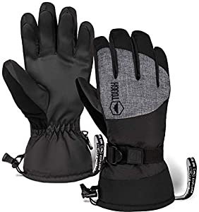 Waterproof and Winterized: Fit for extreme cold temperatures and all the snowball fights you can handle, our ski gloves will keep you toasty even in the dead of winter. Get Ahold Of This: Featuring a double layer of synthetic leather over the entire ...