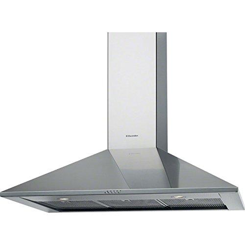Electrolux: Wandhaube, Design, 90cm, Abluft, Chrom, WHL9031CN