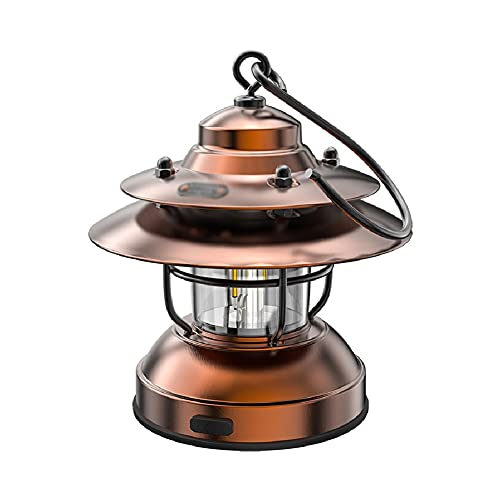 Lámpara de aceite antigua Lámpara de campaña de linterna de campamento retro lámpara de camping lámpara colgante, colgante al aire libre LED antiguo antiguo antiguo lámpara de keroseno Lámpara de mesa