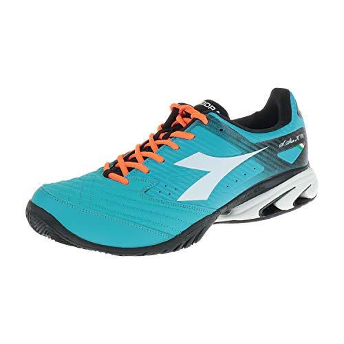 Herren Schuhe Diadora Tennisschuhe S Star K AII AG Blue Fluo White 10117012601C5696 (46 EU)