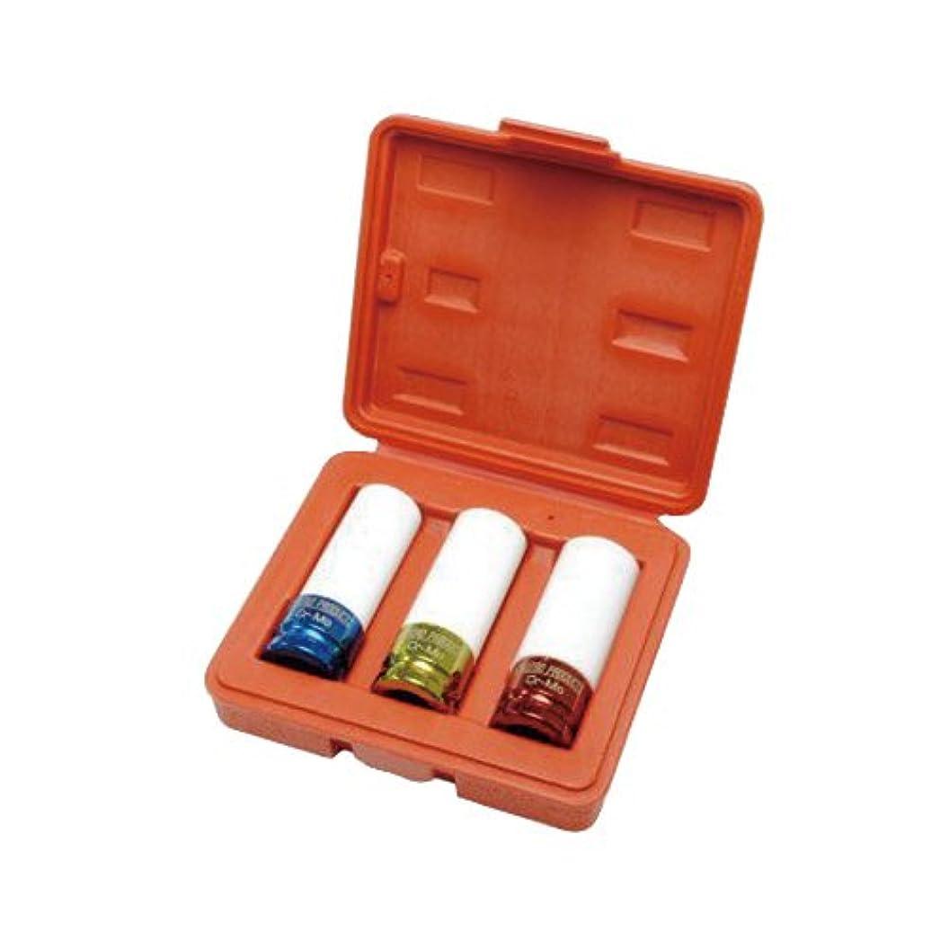 特権備品再集計ASTRO PRODUCTS 02-24756 1/2DR ホイールナットインパクトソケット 3個セット 02-24756
