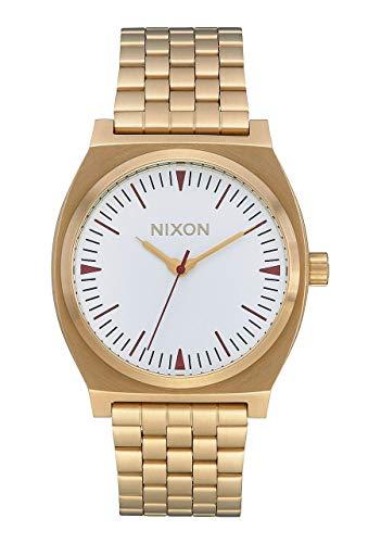 Nixon Reloj Analógico para Unisex Adultos de Cuarzo con Correa en Acero Inoxidable A045-3004-00