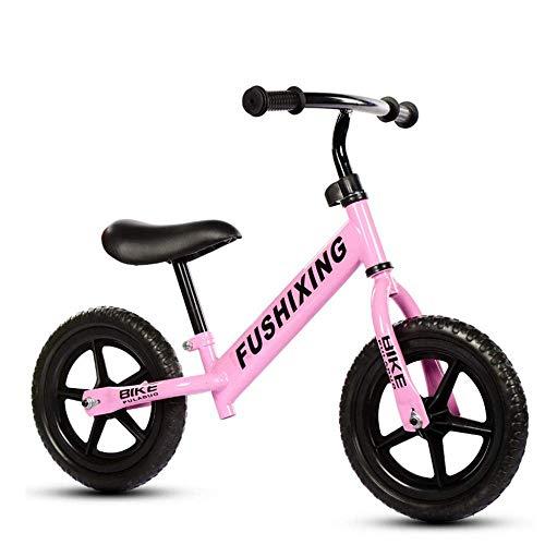 Lowest Price! Zjnhl Children's Fun/Balance Bike No Pedal, Carbon Steel Frame, Adjustable Handlebar, ...
