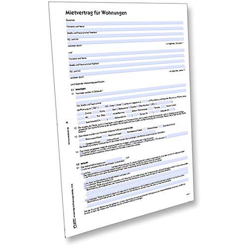 AVERY Zweckform 2849e Mietvertrag für Wohnungen (von Rechtsexperten geprüft, regelt alle wichtigen Punkte des Mietverhältnisses inkl. der Schönheitsreparaturen) [PDF-Download]
