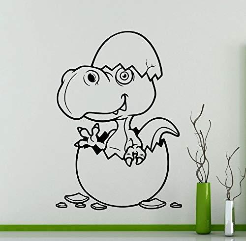 Tianpengyuanshuai baby geboren dinosaurus uitbarsting kinderkamer muurkunst kleuterschool slaapkamer liefde decoratieve stickers